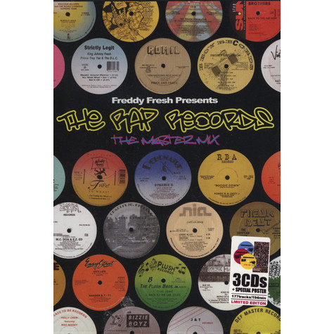 Freddy Fresh presents - The Rap Records Master Mix