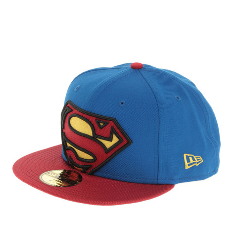 New Era x DC Comics - Superman Team Viza Print Cap