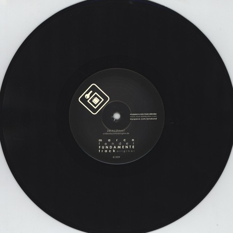 Marco Fender & Jens Bond - Fundamente EP