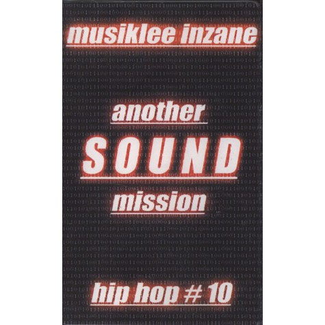 Musiklee Inzane - Another Sound Mission - Hip Hop # 10