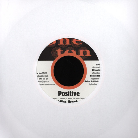 Mike Brooks / Yasmin - Positive / Egal was