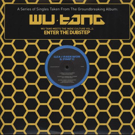 Wu-Tang Clan - Meets The Indie Culture Volume 2 - Enter The Dubstep EP 1