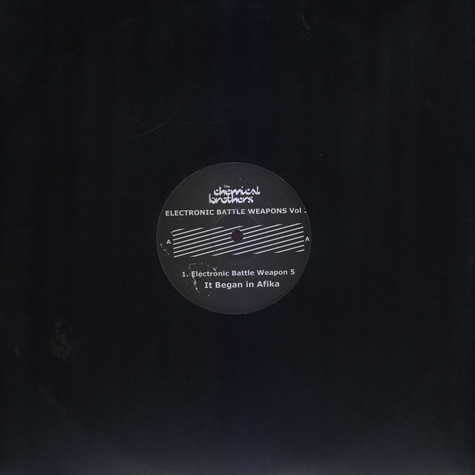 Chemical Brothers - Electronic battle weapons volume 3