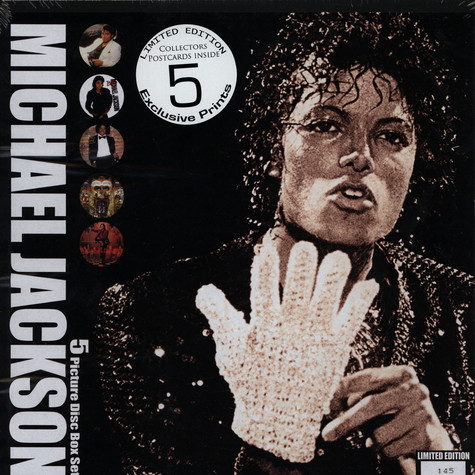 Michael Jackson - 5 Picture Disc Box Set