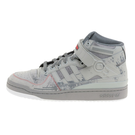 83ecc2d7 adidas X Star Wars - Forum Mid AT-AT (Ice Grey / Legsi) | HHV