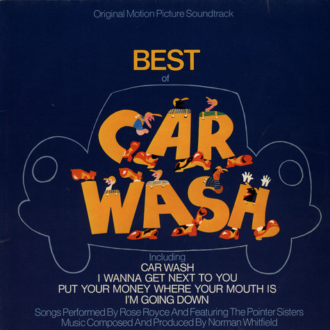 Norman Whitfield - OST Best of Car wash