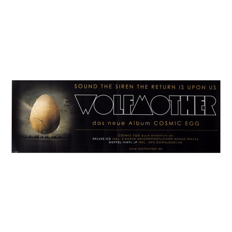 Wolfmother - Cosmic Egg Poster