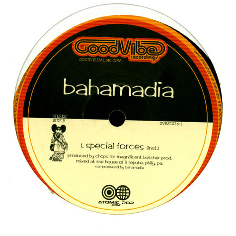 Bahamadia - Special Forces feat. Planet Asia, Chops, Rasco & DJ Revolution