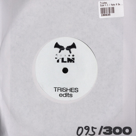 Trishes - Didnt I / Make A Smile For Me