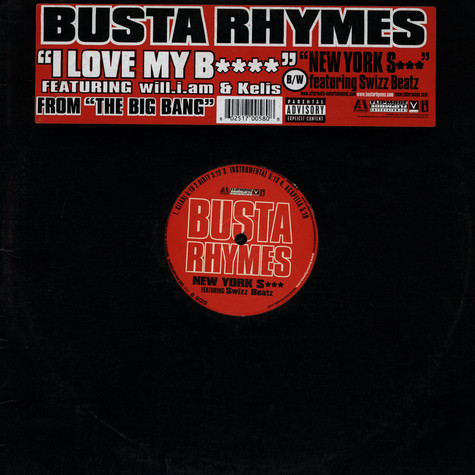 Busta Rhymes Featuring Will I Am & Kelis - I Love My B****