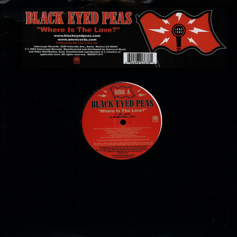 Black Eyed Peas - Where is the love ?