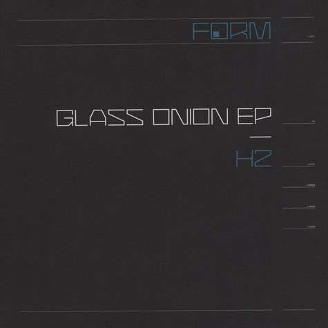 H2 - Glass Onion EP