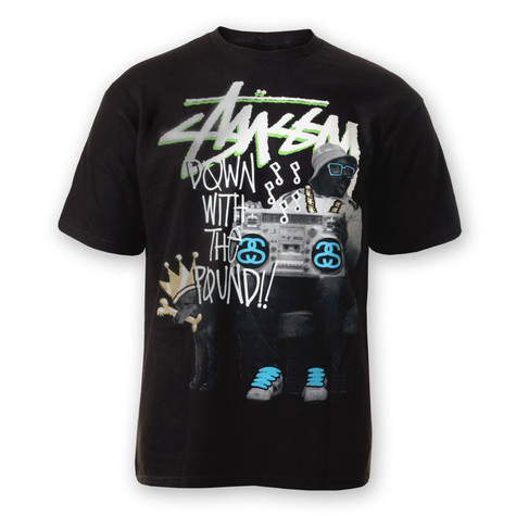 Stüssy - Down With The Pound T-Shirt