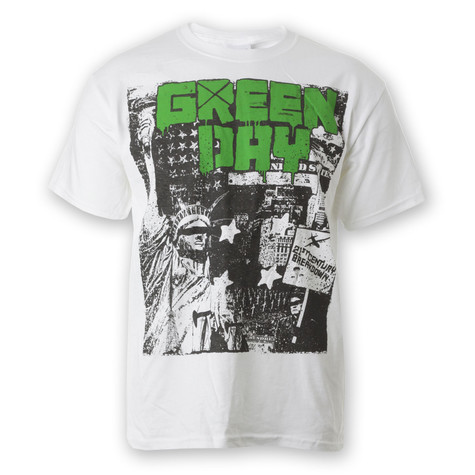 Green Day - State of Liberty T-Shirt