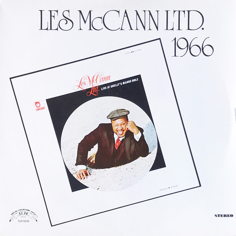 Les McCann - Live at Shelly's Manne-Hole