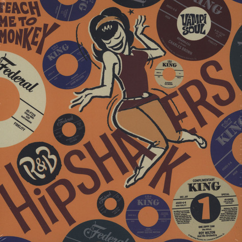 V.A. - R&B Hipshakers - Teach Me To Monkey