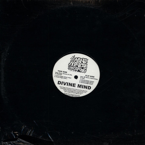Divine Mind - Front Page