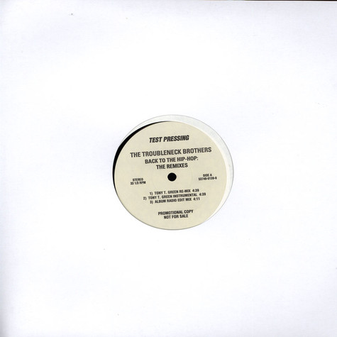 Troubleneck Brothers - Back To The Hip-Hop Remixes