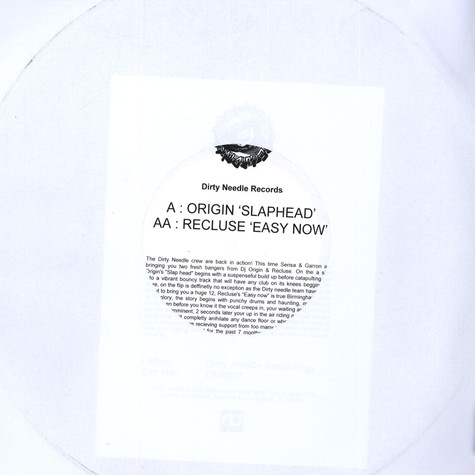 Origin / Recluse - Slap Head / Easy Now