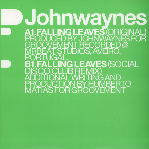 Johnwaynes - Falling Leaves Social Disco Club Remix