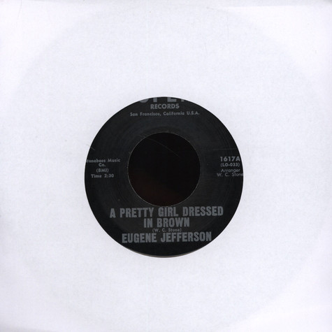 Eugene Jefferson - A Pretty Girl Dressed In Brown