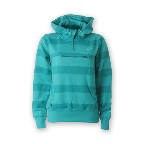 Cleptomanicx - Hooded Stripe Women Hoodie