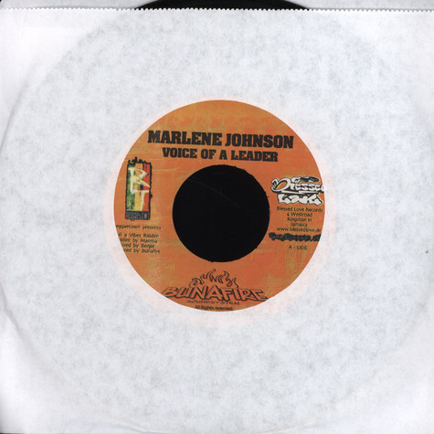 Marlene Johnson / Nedrick - Voice Of A Leader / Jah Love Is Great