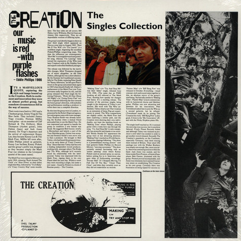 Creation, The - Singles Collection