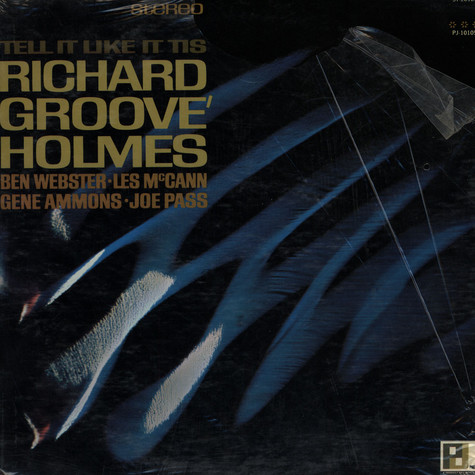 "Richard ""Groove"" Holmes - Tell It Like It Is"