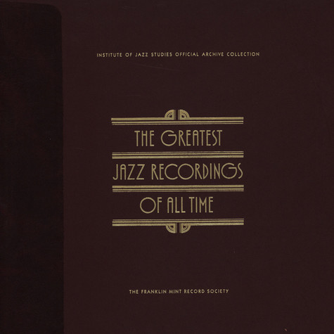 V.A. - The Greatest Jazz Recordings Of All Time - Bebop Legends