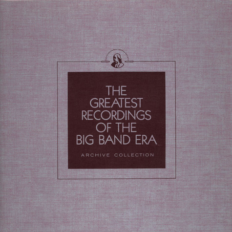 V.A. - The Greatest Recordings Of The Big Band Era - Benny Goodman Vol. 1 ('30s) / Shep Fields / Ted Weems