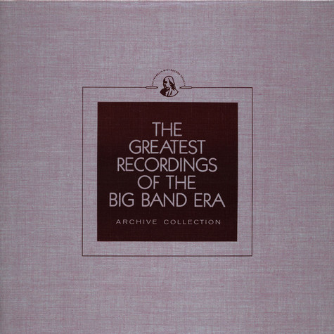 V.A. - The Greatest Recordings Of The Big Band Era - Jimmy Dorsey Vol. 1 / Erskine Hawkins / Ted Lewis / Les Elgart