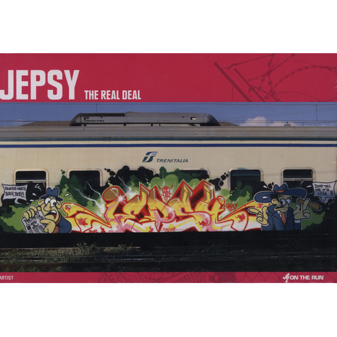 Jepsy - The Real Deal Hardcover