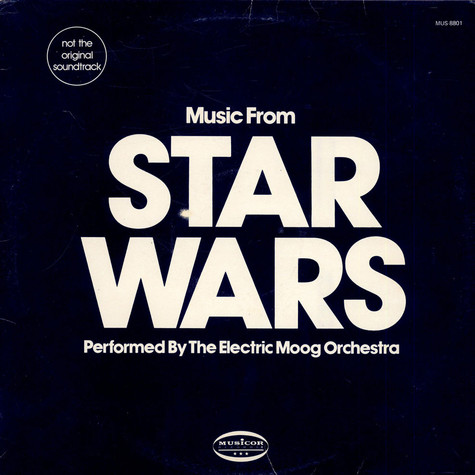 Electric Moog Orchestra, The - Music From Star Wars