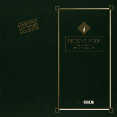 Depeche Mode - Love In Itself · 2 And Live Tracks