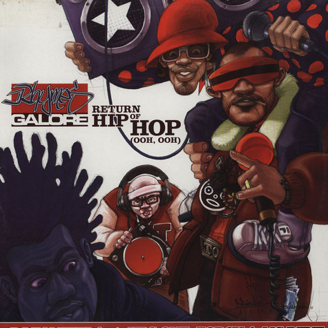 DJ Tomekk - Return Of Hip Hop Feat. Krs One, Torch & MC Rene