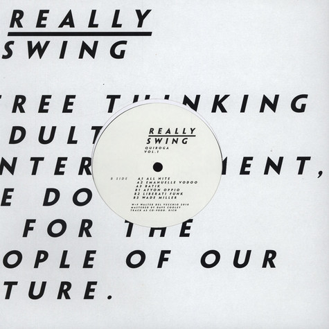 Really Swing - Quiroga Volume 1