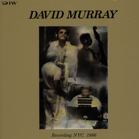 David Murray - Recording NYC. 1986