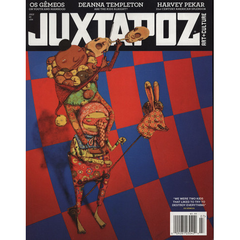 Juxtapoz Magazine - 2010 - 07 - July