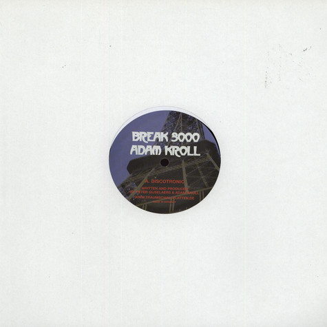 Break 3000 & Adam Kroll - Paris EP