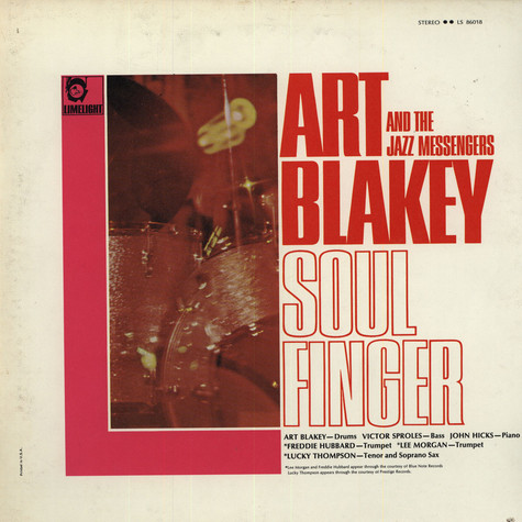 Art Blakey And The Jazz Messengers - Soul Finger