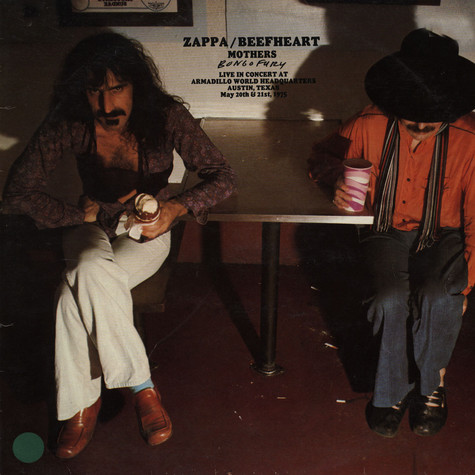 Frank Zappa / Captain Beefheart / Mothers, The - Bongo Fury