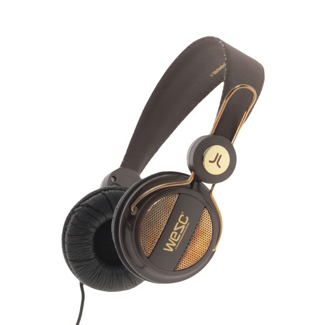 WeSC - Oboe Golden Headphones