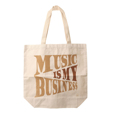 Ubiquity - Music Is My Business Tote Bag