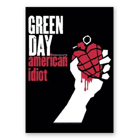 Green Day - American Idiot Flag