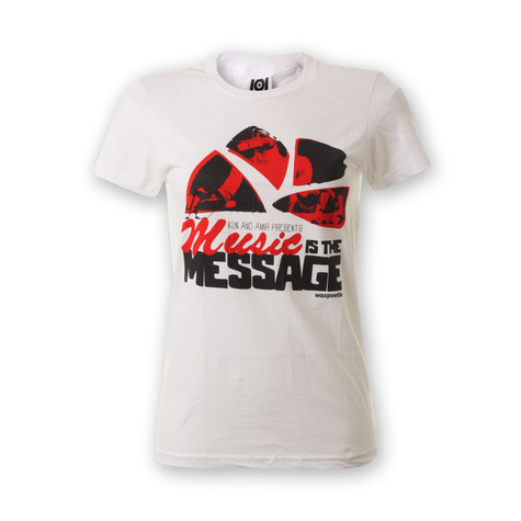 101 Apparel x Kon & Amir - Music Is The Message Women T-Shirt