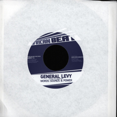General Levy - Words, Sound & Power