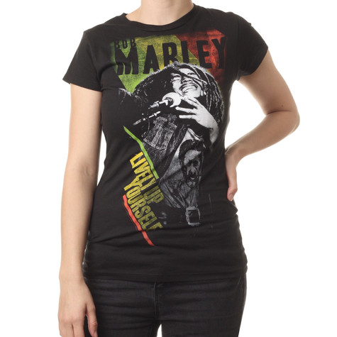 Bob Marley - Lively Up Yourself Women T-Shirt