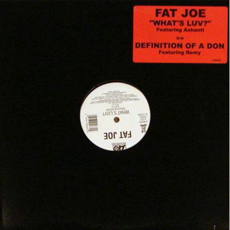 Fat Joe - What's Luv? / Definition Of A Don