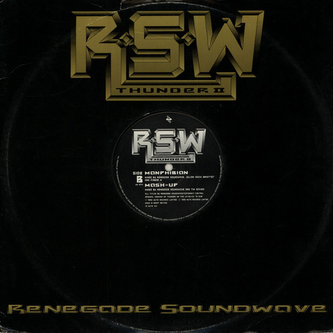 Renegade Soundwave - Thunder II